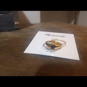 Madewell Multi-Tone Ring Set